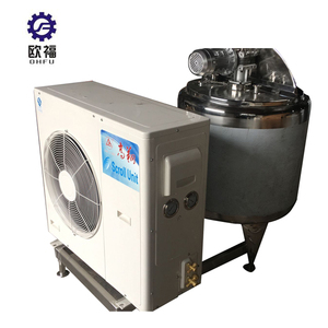 Automatic water tank cooling coil milk chiller tank 500 ltr