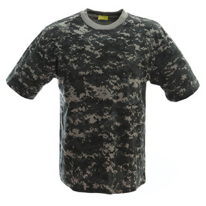 Summer Anti-Shrink Custom tshirt printing Camouflage T-shirts