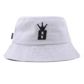 Wholesale custom fashion 100% cotton embroidery bucket hat and cap
