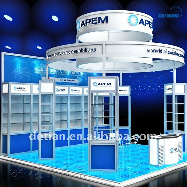 High-grade modular exhibition stand maxima acrylic display stand