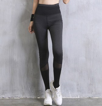 Oem Dry Fit Polyester Sport Yoga Pants
