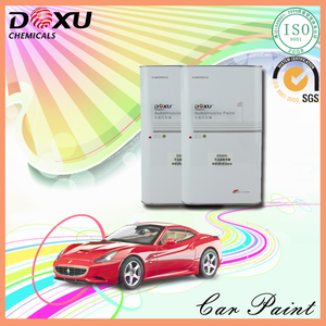 Hot sale 4L Package 1K Silver Color Auto Varnish