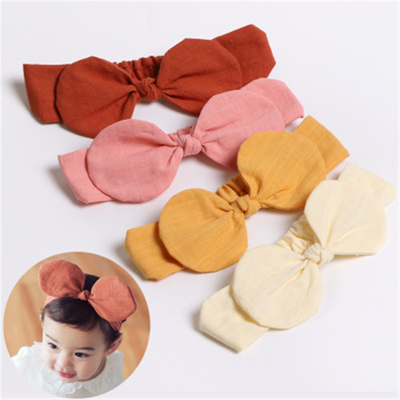 Newborn Baby Girl Bow Head Wrap Turban Top Knot Headband Hair Bands Accessories Exquisite Traditional Embroidery Art Kids' Clothing, Shoes & Accs Hair Accessories