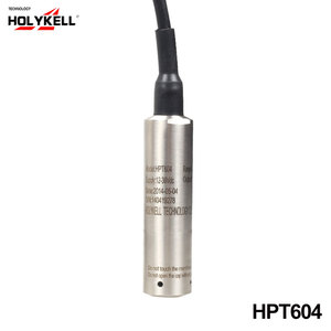 Holykell factory HPT604 Submersible type electronic water level sensor 0-5v tank