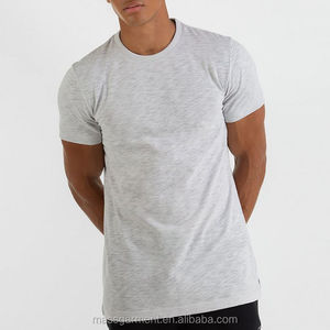 High quality dry-fit gym slim fit custom cotton men t-shirt