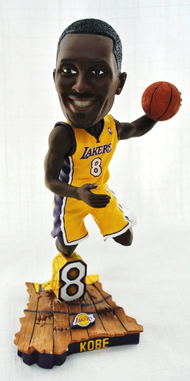 cf612a40516 Get Quotations · Kobe Bryant Official NBA  8 dunking hm uniform action  Bobble Head LA Lakers