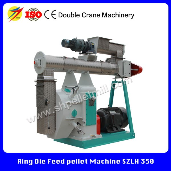 Used pellet press machine cattle feed pellet making machine with spare parts