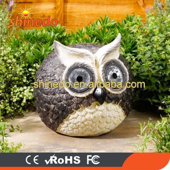 Outdoor Solar Owl Garden Led Light