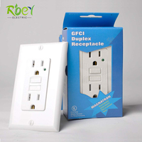15A 220V Switch Socket Outlet GFCI Duplex Receptacle / GFCI Outlet