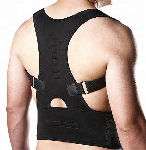 Best Fully Adjustable Back Brace Posture Corrector Support Brace for Lower and Upper Back Pain, Black;pink;white
