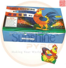 Kids Toy Fireworks Cock Crowing At Dawn