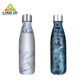 Common painting 500ml stainless steel copper cola shape sport bottle