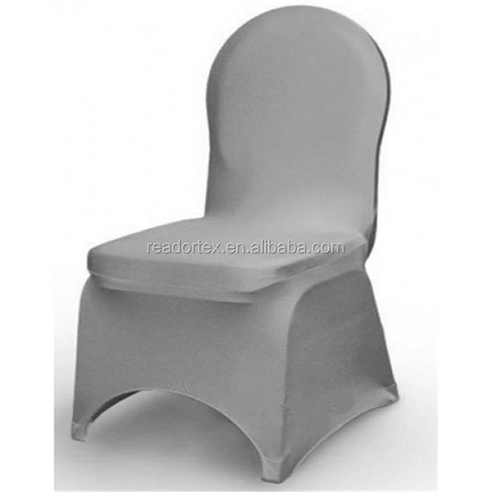 High Quality Spandex Grey Chair