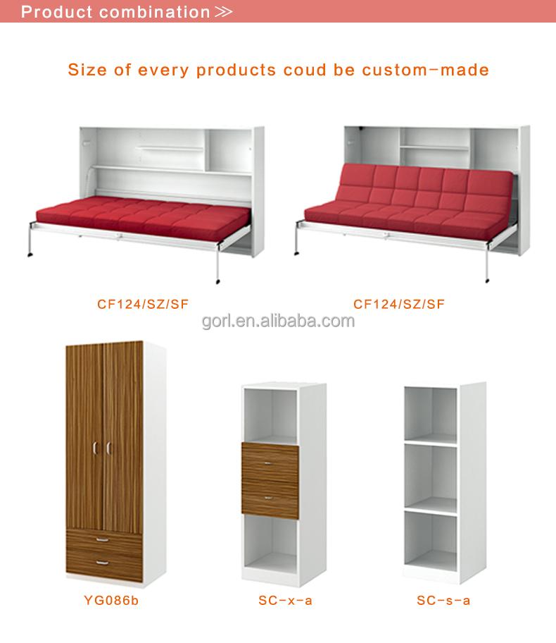 Venta al por mayor precios de camas abatibles-Compre online los ...