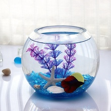 Clear Grote Ronde Glazen Vissenkom <span class=keywords><strong>Aquarium</strong></span>