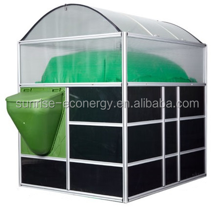 Chinese portable small mini home waste treatment biogas plant for stove and lighter and generating electricity