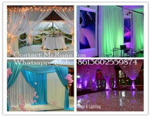 wedding crystal backdrop, decoration wedding backdrop, backdrop pipe and drape for wedding