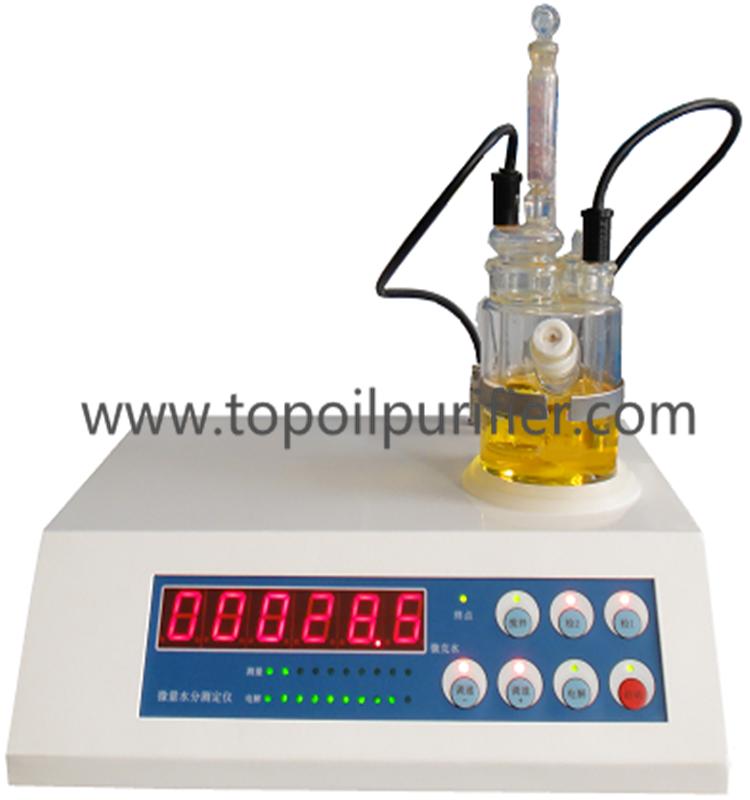 Liquid Water Content Measurement / Insulating Transformer Oil Karl ...
