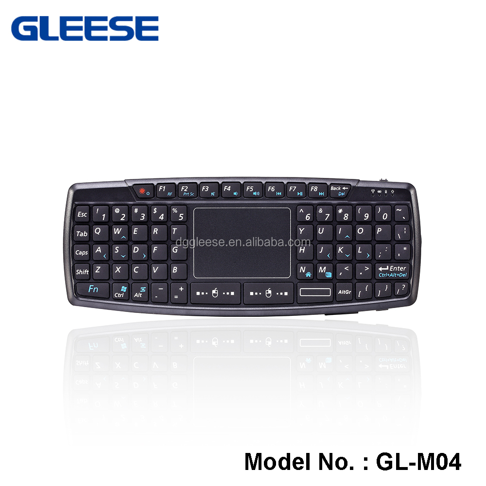 2.4Ghz USB port,mini wireless keyboard with touchpad and backlit, google TV
