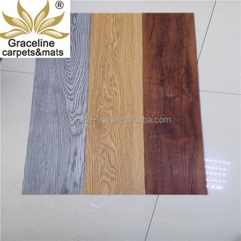 Pvc Waterproof Vinyl Plank Flooring Floor Interlocking Tile For Home Use