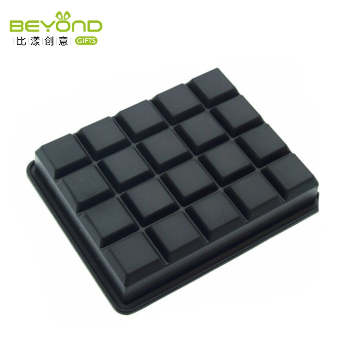 Customized reusable lego ice mold silicone ice cube tray