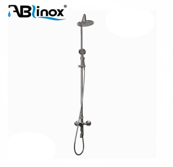 stainless steel shower faucet with hand spray delta shower attachment for bathtub shower