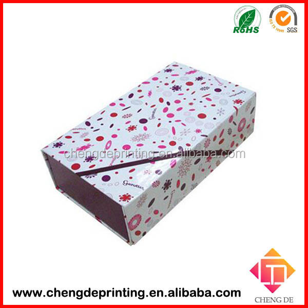 Paper Material and Accept Custom Order luxury paper shoe boxes