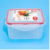 Plastic Food Storage Container airtight Lunch Box With Lids