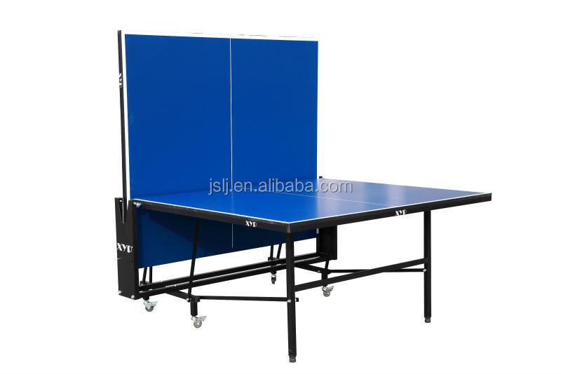 D9508 mesa de ping pong plegable doble m vil oem plegable tenis de mesa mesa de tenis de mesa - Mesa ping pong plegable ...