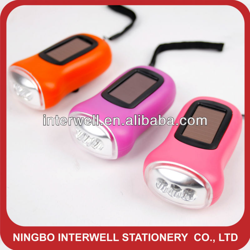 Solar Design Functional Dynamo Flashlight