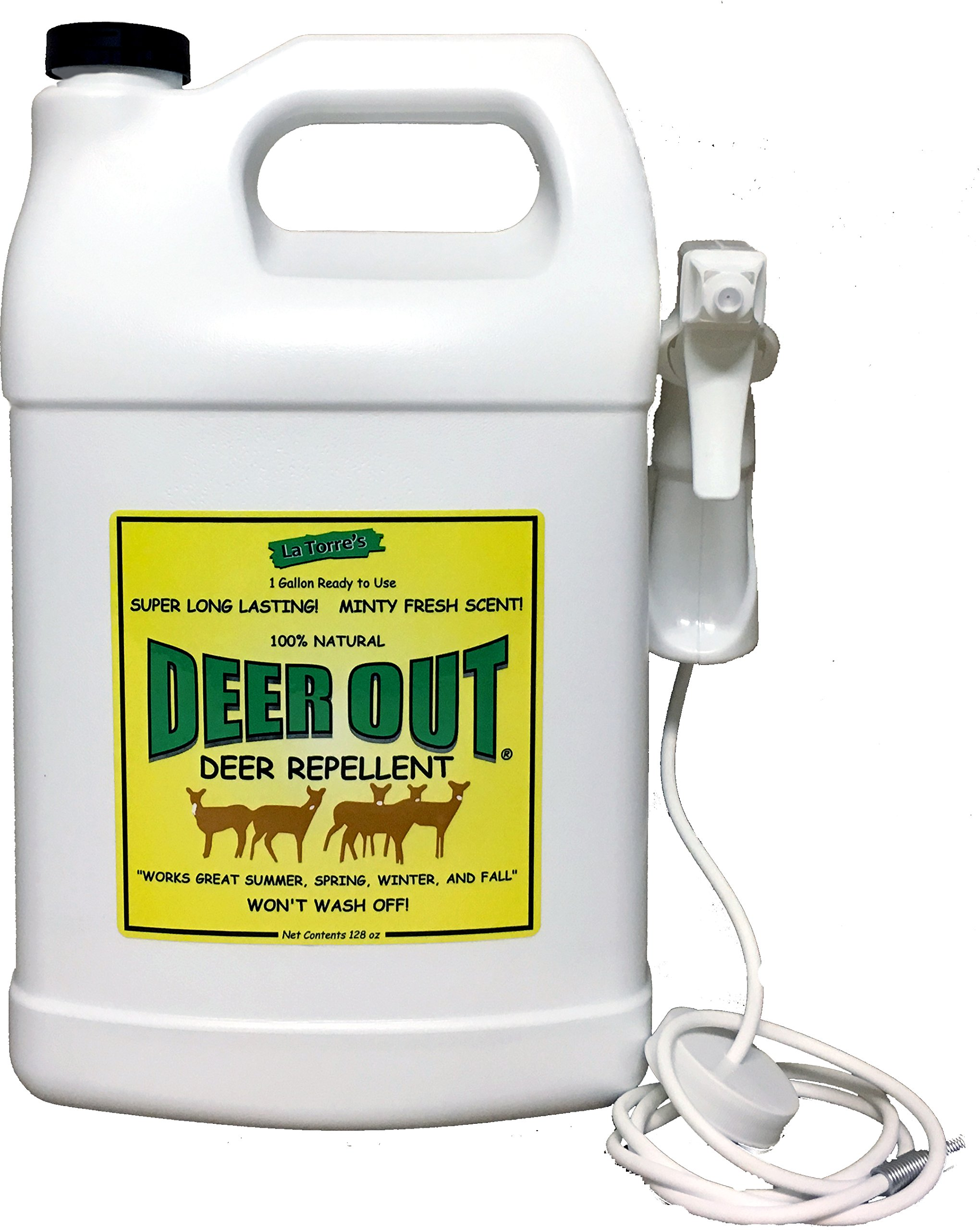 Deer Out 1 Gallon Ready-To-Use Deer Repellent