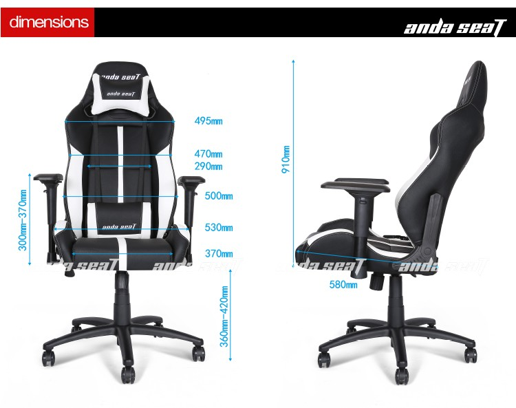 Ergonomic Office Chair Gaming Composer Executive Computer Chair Ad