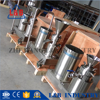 JMF series Colloid Grinding Machine Food Mill Tomato Processing