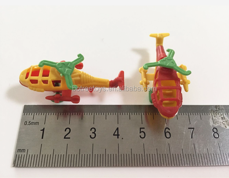 Mini Helicopter Collection Models Cheap Plastic Promotion Toy for Kids