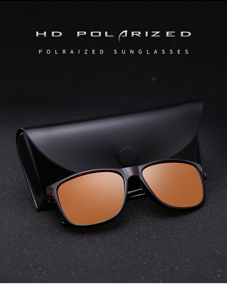 New Best Polarized Retro Driving Sports Sunglasses For Men 2019