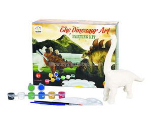 Different dinosaurs DIY educational art painting toy for kid
