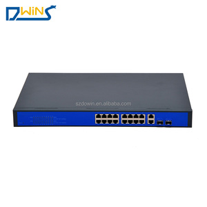 Competitive price Unmanaged Gigabit 16 Port POE Switch
