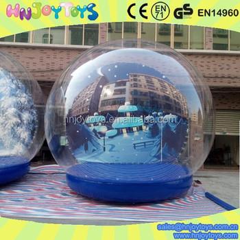 Mall Christmas Decorations Christmas Inflatable Snow Globe - Buy ...