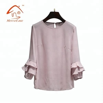Casual Fashion Design Lady Spring New Design Normal Blouse Buy