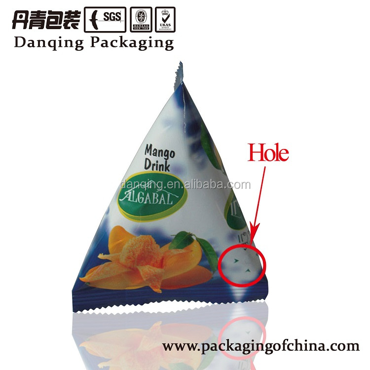 Import China goods Plastic packing Guangdong DQ China suppliers sauce pouches blend colorful printed