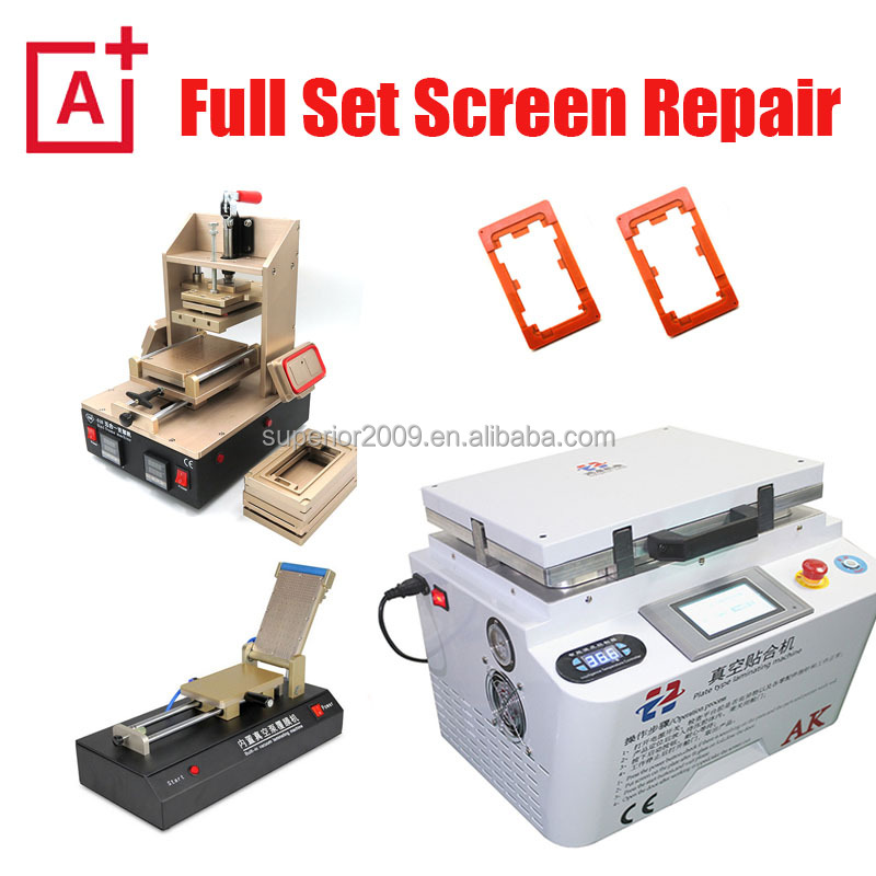 Full Set AK-pro OCA Vacuum Laminator Machine for iPhone Samsung Phone LCD Screen Repair lamination maquina separador de glass
