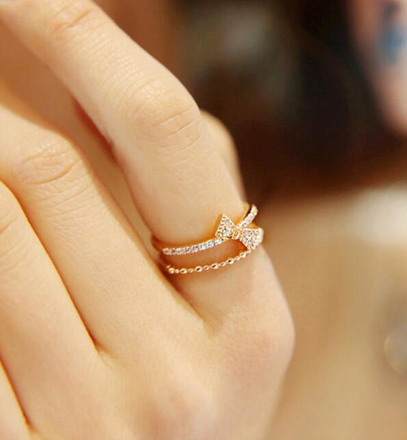 Sweet 2 Gram Gold Ring As Women Gift - Buy 2 Gram Gold Ring,Sweet ...