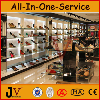 Hot New Arrival Wooden Shoe Store Furniture,shoe Store Display Fixtures