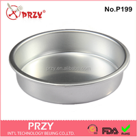 P199 High quality custom round shaped unique cake pans