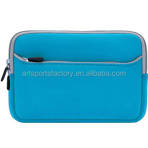 neoprene tablet case for 7inch tablet with front pocket