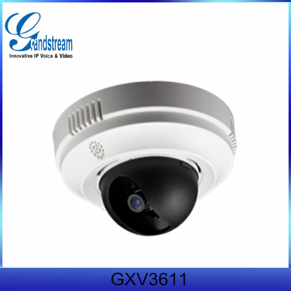 Ip dome camera Grandstream GXV3611 voip ip camera with sip of security camera system
