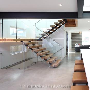 Design Moderne Intérieur Galvanisé Métal Main Courante Escalier ...