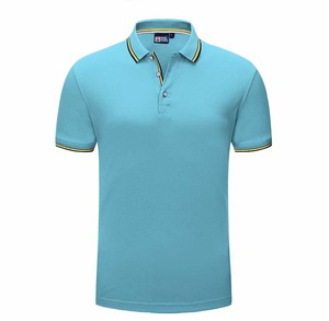 Custom High Quality Short Sleeve Blank Golf Polo Shirt Men Polo T Shirt