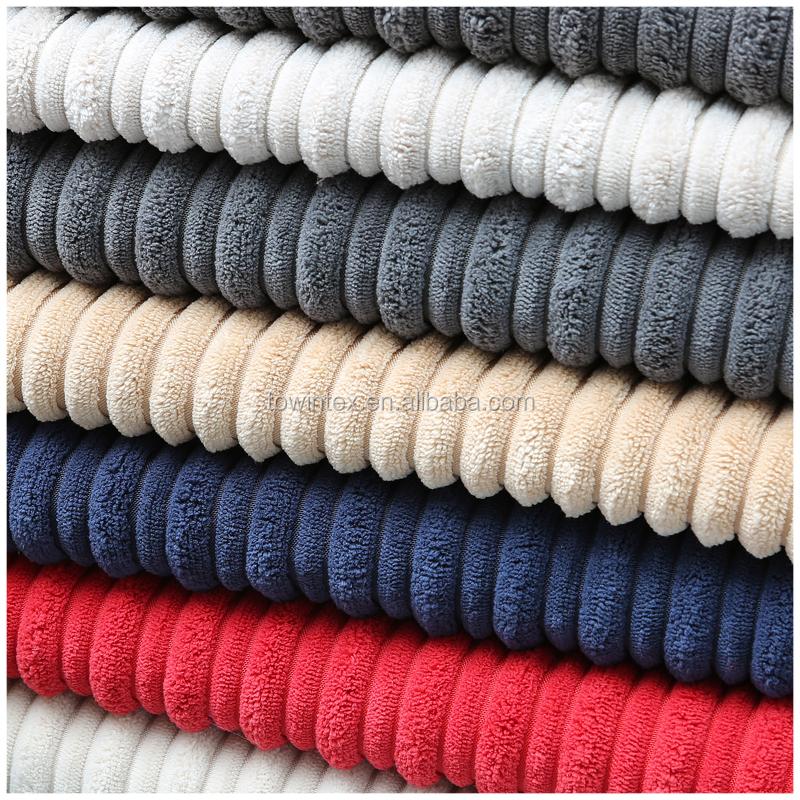 % 100% Polyester Kadife kumaş için kullanılan minder örtüsü