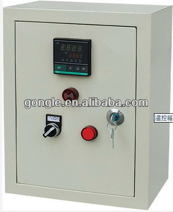 control panel for exhaust fan/control box